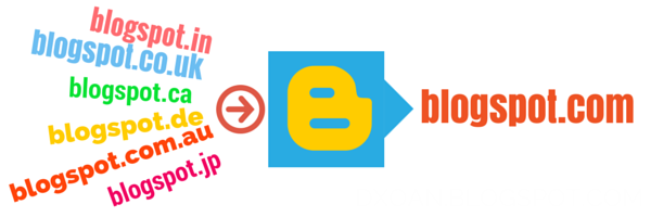 Chuyển hướng tất cả các tên miền như: blogspot.in, blogspot.jp, blogspot.uk … Về blogspot.com