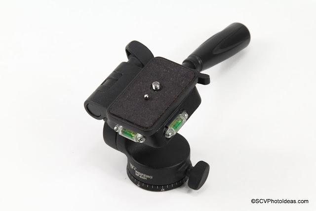 Weifeng WF-533H Pan-Tilt Head Overview