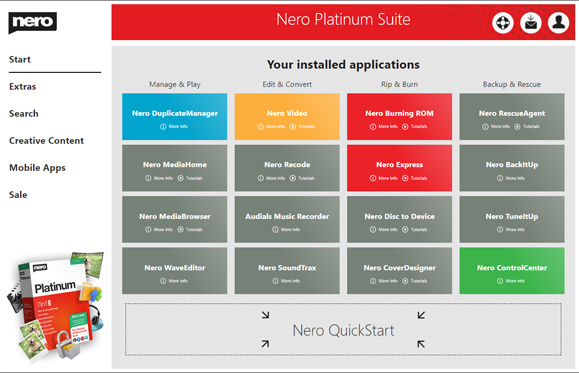Nero Platinum Suite 2021 Start Full