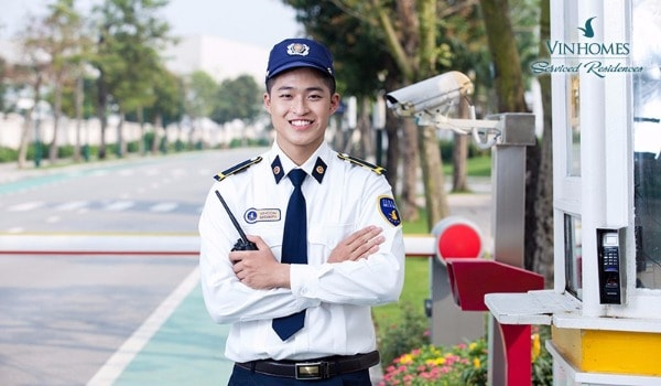 Hệ thống an ninh Times City