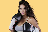 Nivetha Pethuraj Fitness Wonder with Boxing Gloves Spicy Pics ~  Exclusive 06.jpg
