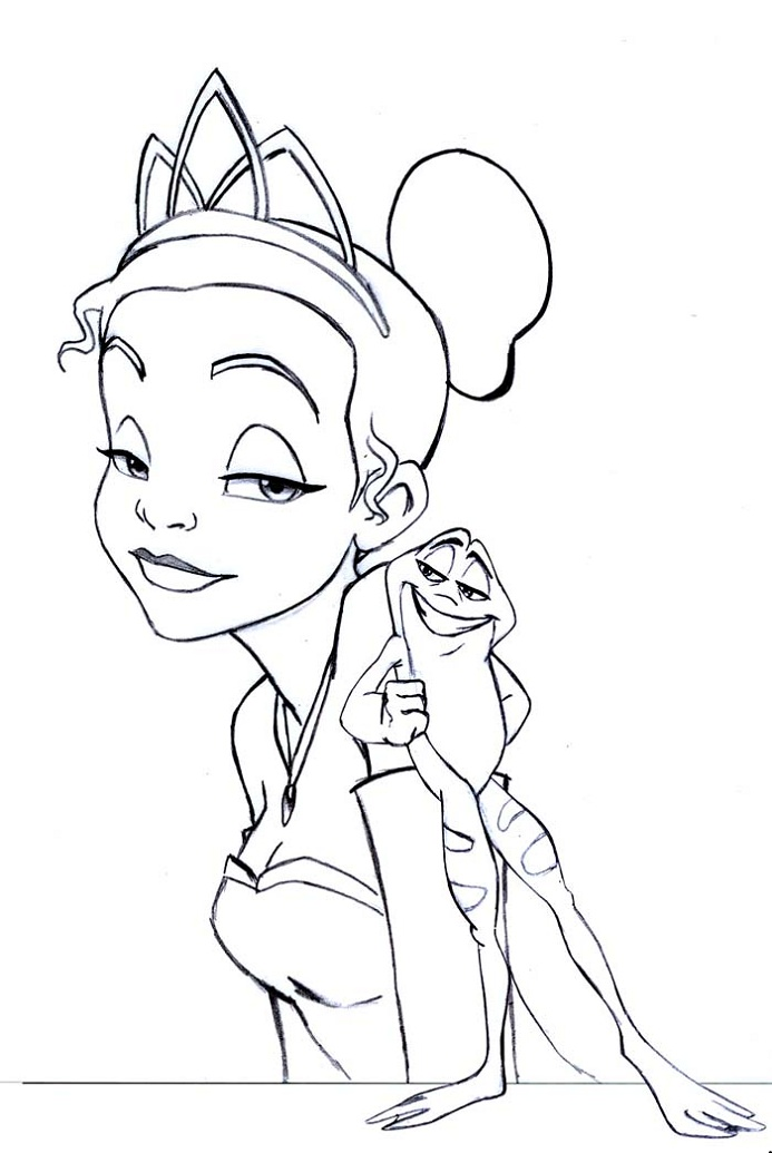valentines disney coloring pages - photo#41