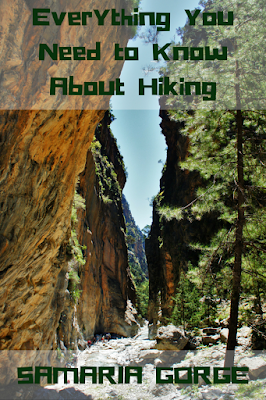 Travel the World: The Samaria Gorge hike on the island of Crete in Greece is an epic European hike for the bucket list.