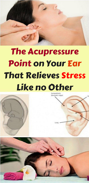 The Acupressure Point on Your Ear That Relieves Stress Like no Other
