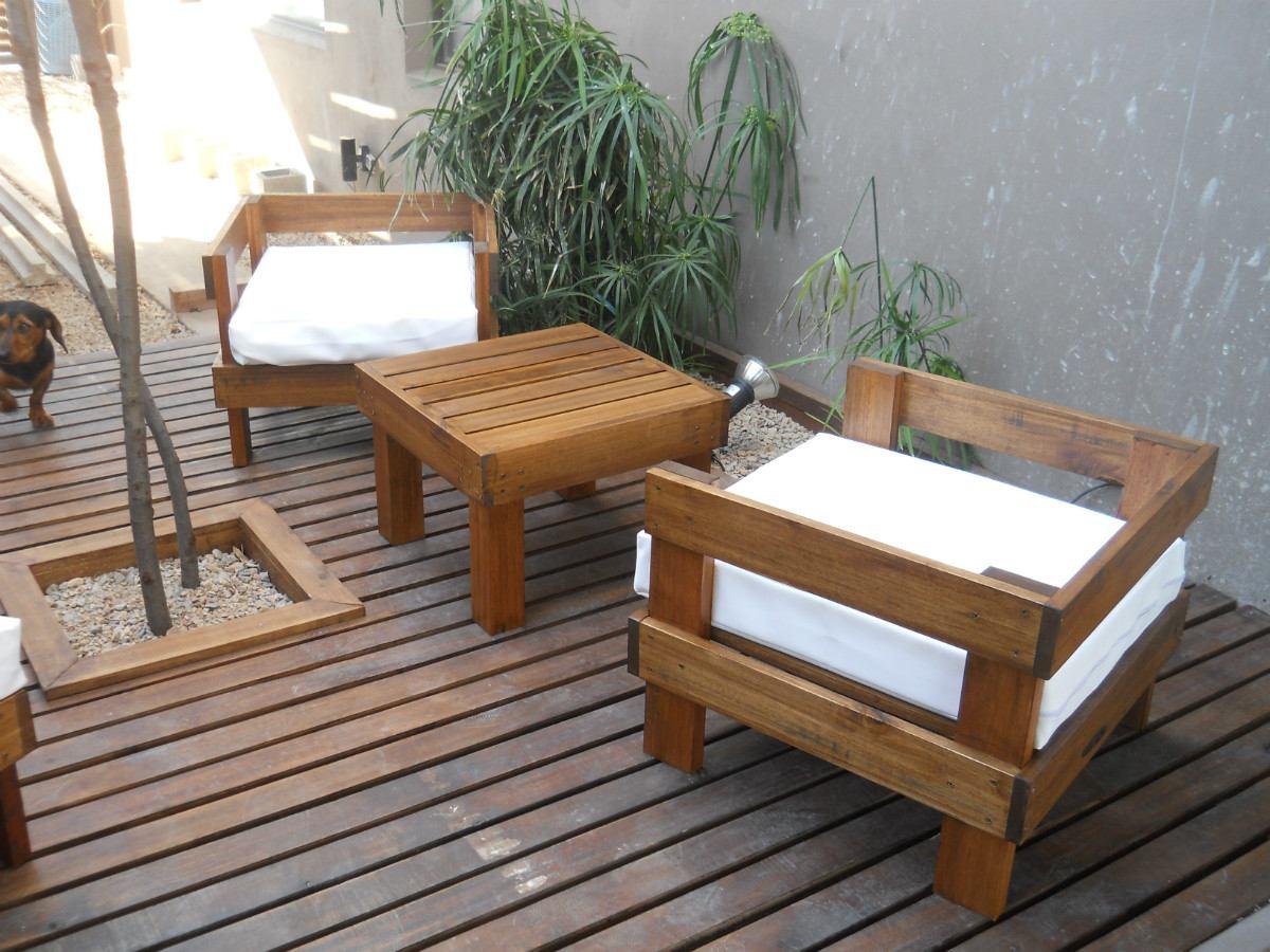 Madera arte muebles rusticos por miguel ruiz algunos - Terrazas de madera rusticas ...