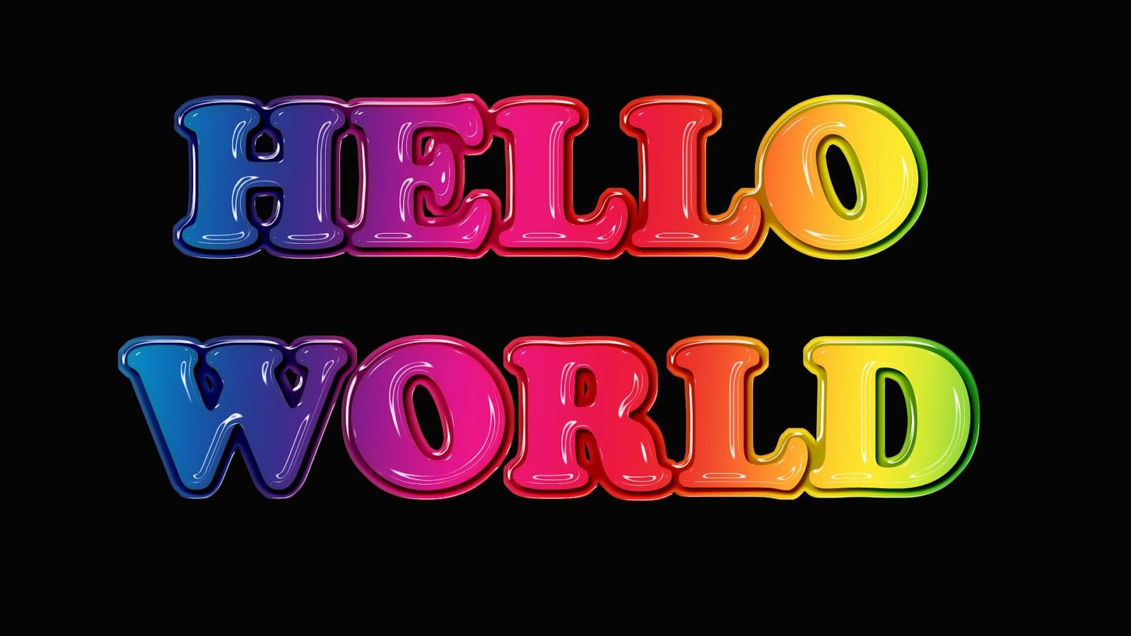 Photoshop Portfolio: Text Design 3 - Glossy Molded Plastic