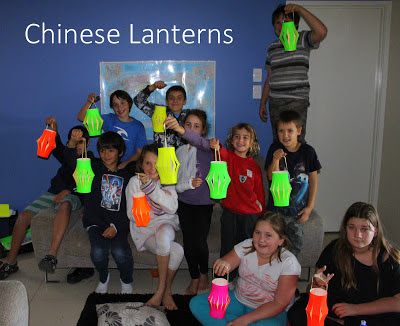 Chinese Paper Lanterns for Kids