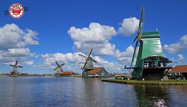 Molinos en Zaanse Schans, Holanda