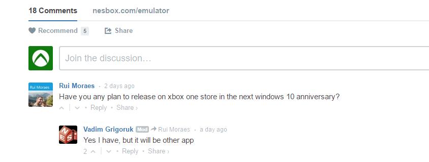 Эмулятор игр NES, SNES, Sega и Gameboy будет доступен на Xbox One