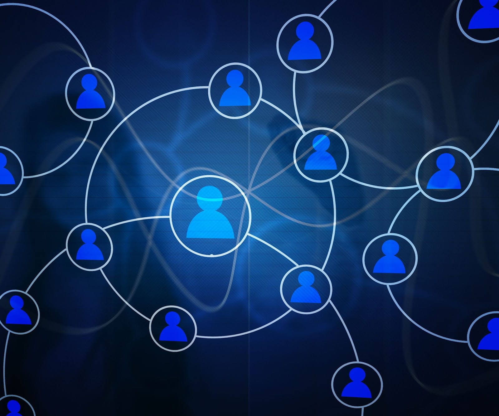 Network Business Stock Photo