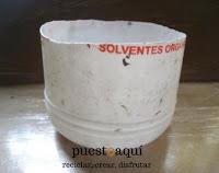 Tutorial para hacer vasija. Manualidades en papel maché. blog de artesanías