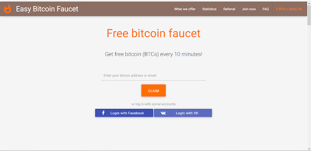 Easy Bitcoin Faucet Get free bitcoins EASY! Easy Bitcoin Faucet for ...