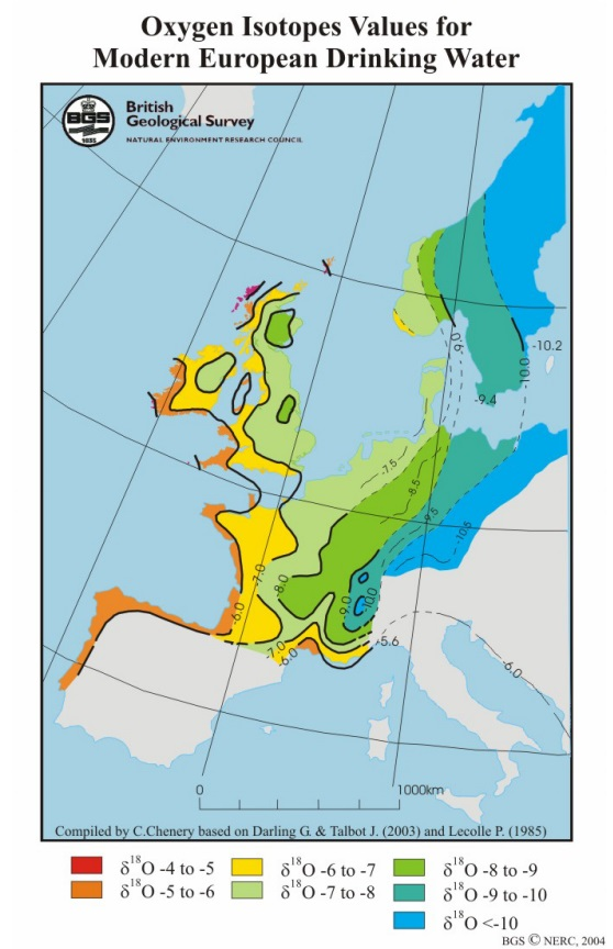 Map Of Uk 800 Ad.Caitlin Green Some Oxygen Isotope Evidence For Long