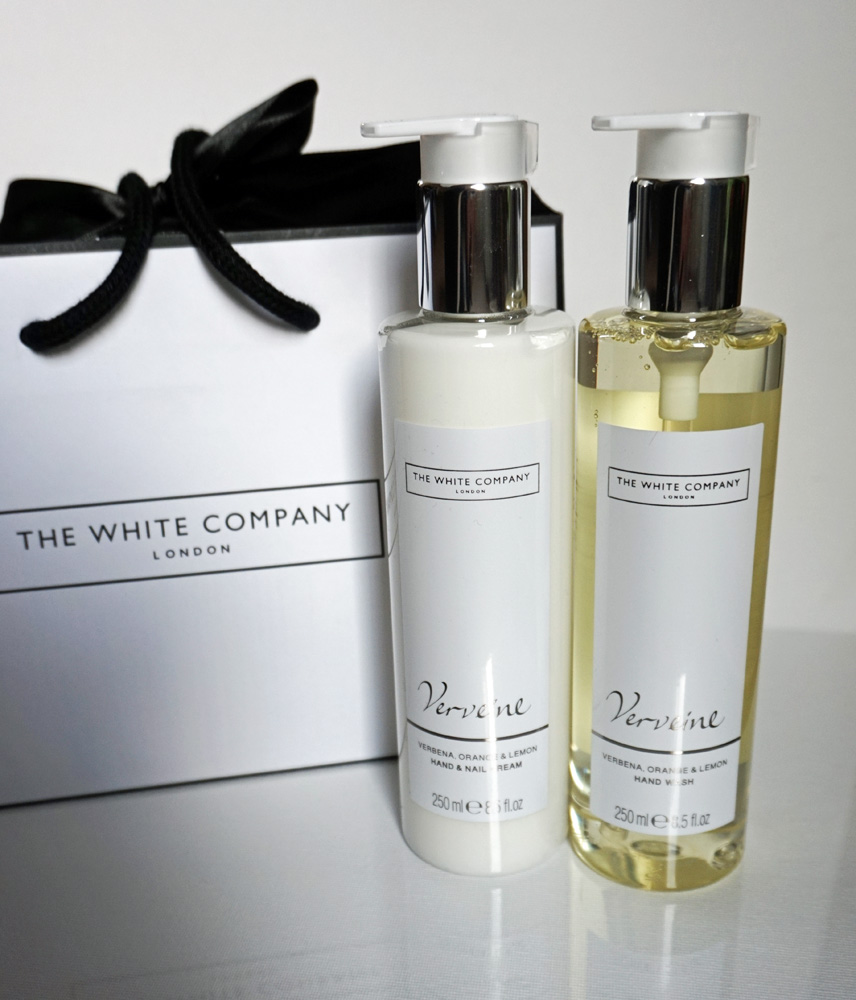 The White Company Giftbag - Verveine Hand Wash and Hand Lotion
