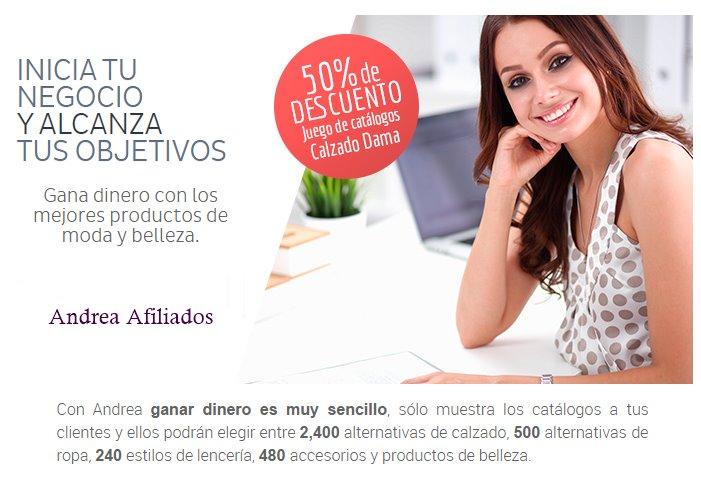 a5d5b6eaf46e Andrea Afiliados - Como vender ropa y zapatos Andrea | CatalogosMX
