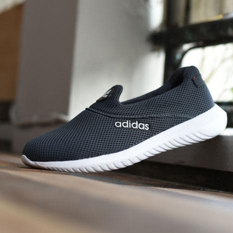 Sepatu Adidas Slip On Pria Wanita Abu-Abu  ASLOA1818   e82ef6a843