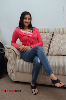 Telugu Actress Mouryani Latest Pos in Blue Denim Jeans  0101.JPG