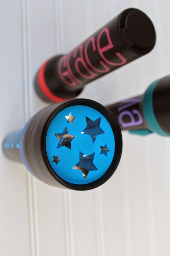 Belvedere Designs: DIY Personalized Flashlights Tutorial