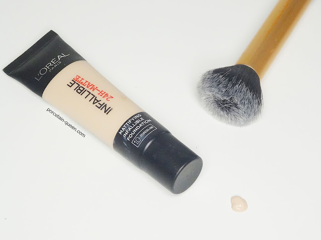 L'Oreal Paris Infallible 24 Hour Matte Foundation