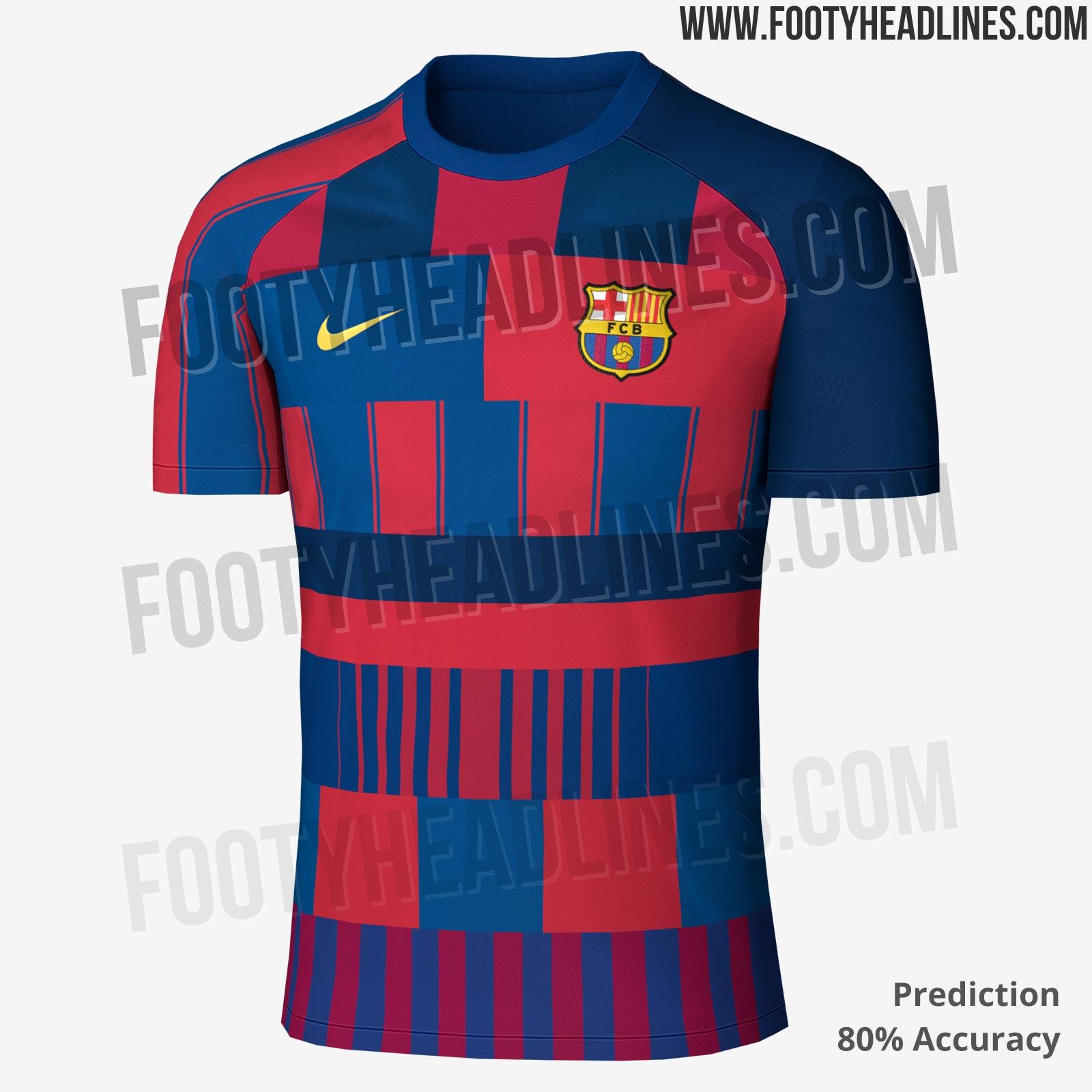 7b3e222d035b8 La predicción de la camiseta del Barcelona