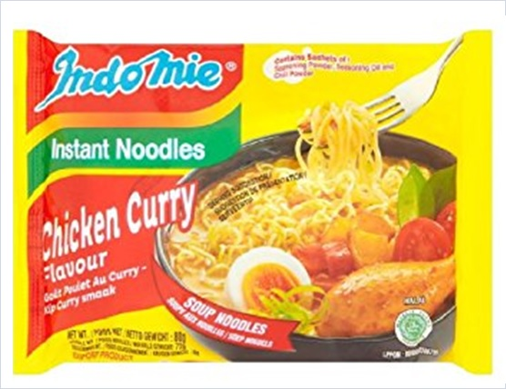 Indonesia Indomie Chicken Curry Flavour Instant Noodles 628MART