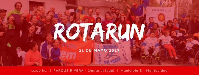 5k y 2,5k RotaRun en el parque Rivera (Montevideo, 21/may/2017)