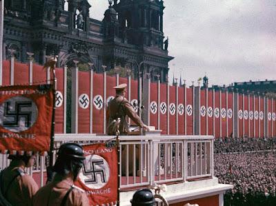 Fotografías a color de la Alemania Nazi