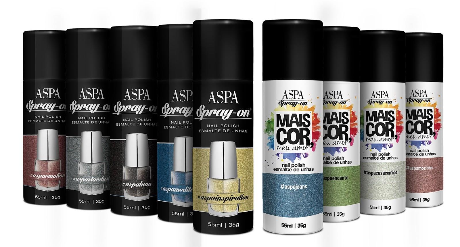 Esmalte em Spray Aspa