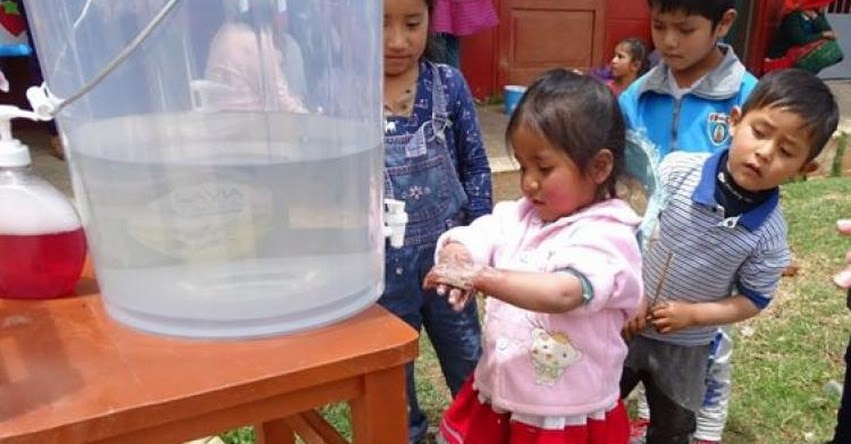 QALI WARMA: Programa social fortalece práctica de lavado de manos en la región Áncash - www.qaliwarma.gob.pe