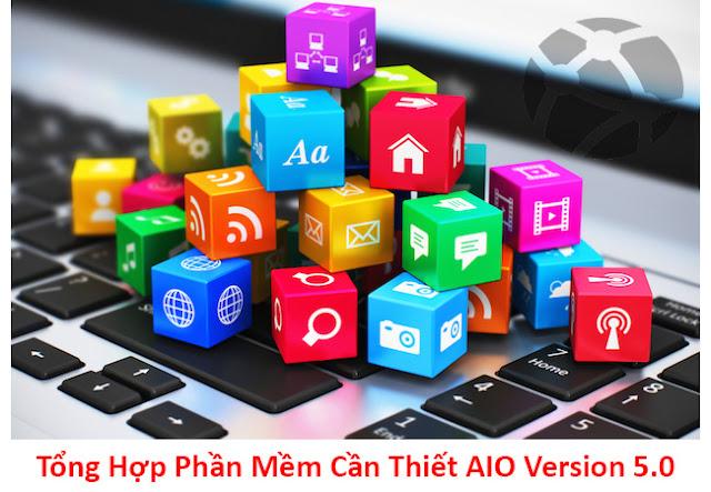Tải Về Mini AIO Software Silent Version 8.0 - Bộ Cài Đặt Phần Mềm Cần Thiết