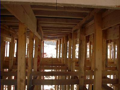 الشدات الخشبية للأسقف والكمرات