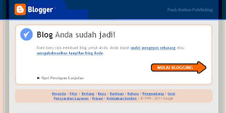 Tutorial Membuat Blog di Blogger.com
