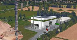 Impianto di recupero rifiuti di Marcallo per la produzione di biometano