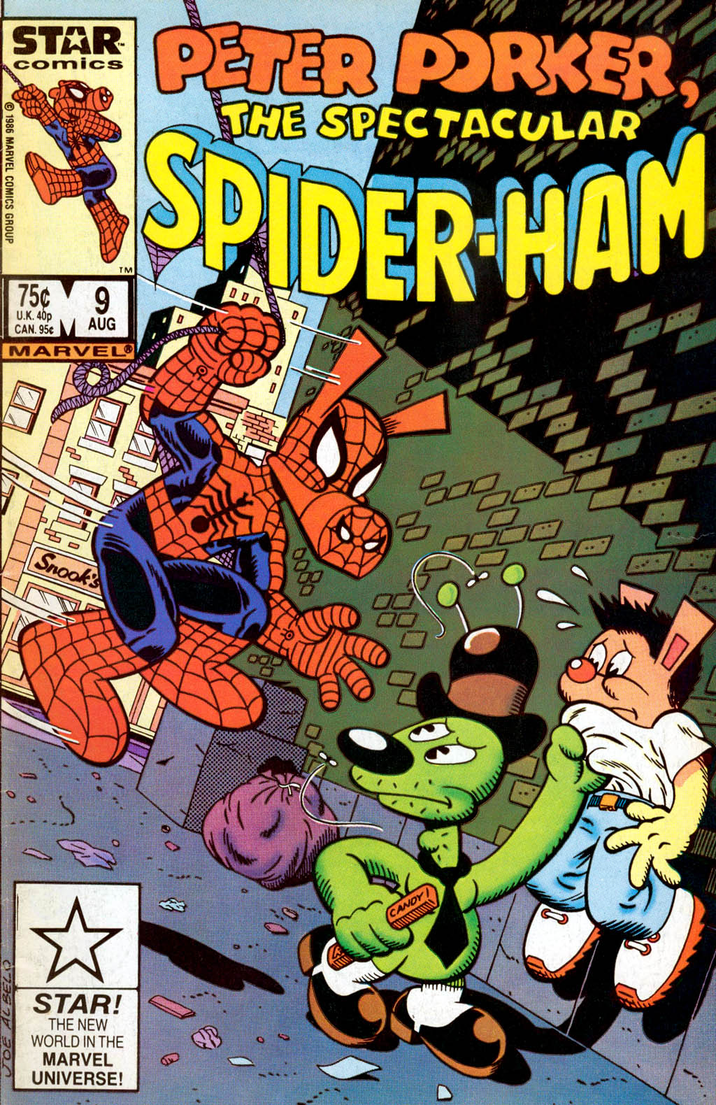 Peter Porker, The Spectacular Spider-Ham issue 9 - Page 1