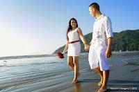 Noivos, Ensaio de Casal na Praia,Ganhadores do sorteio de casamento.com.br, Fotografia de Ensaio Fotografico na Praia, Fotos na Praia