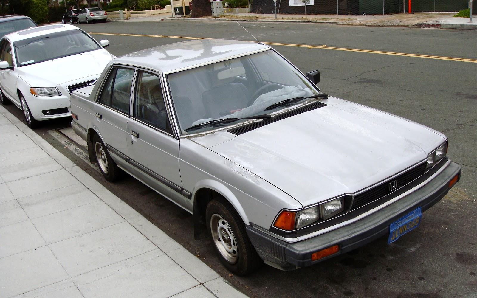Honda Of Seattle >> THE STREET PEEP: 1983 Honda Accord Sedan