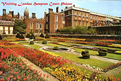 Visiting London Hampton Court Palace