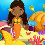 Games4King Cute Mermaid Girl Rescue