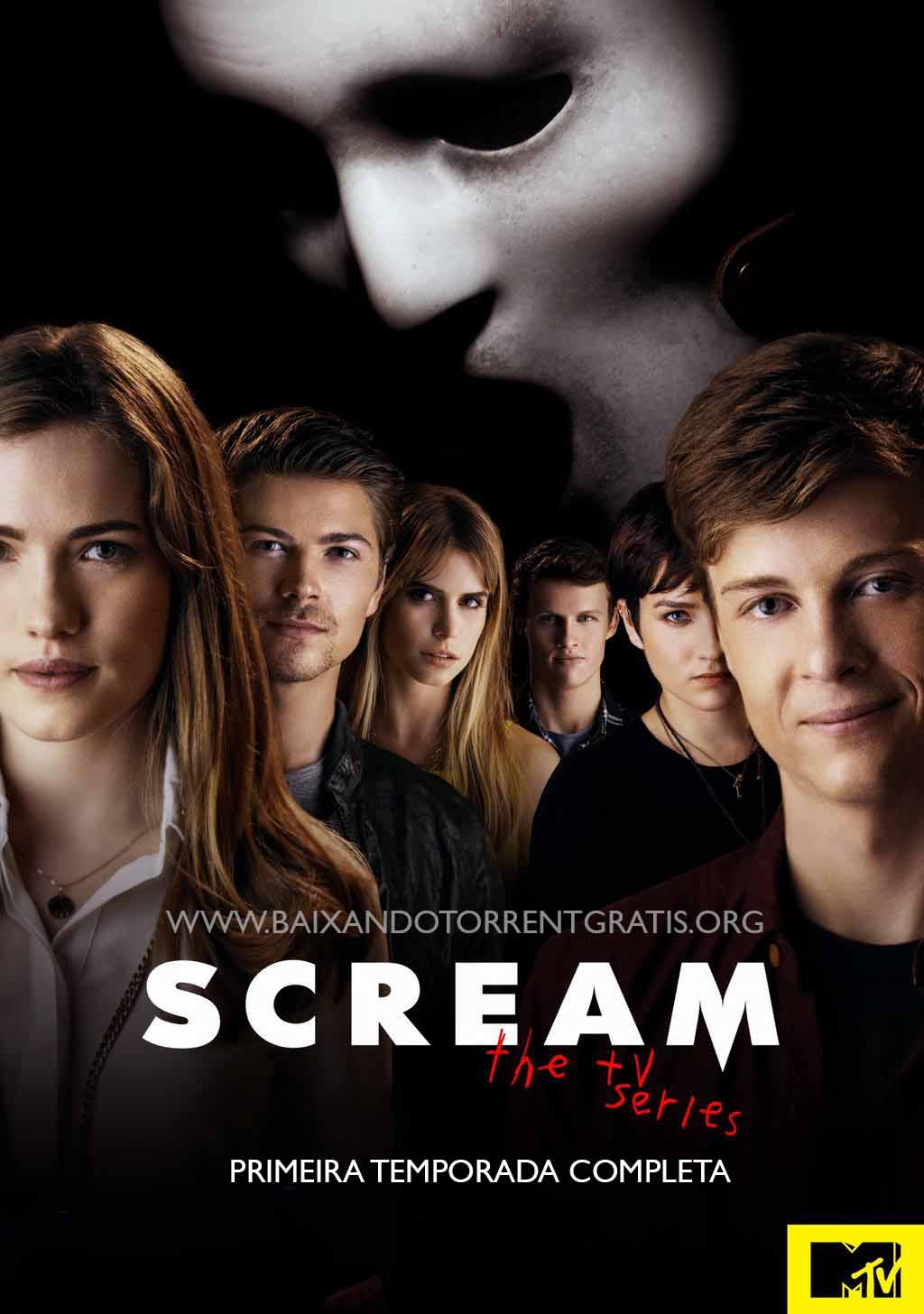 Scream 1ª Temporada Torrent – WEBRip Dublado (2015)