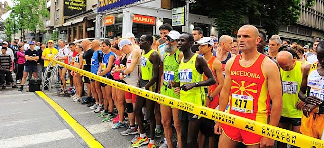 Kenyan runners win Skopje Marathon