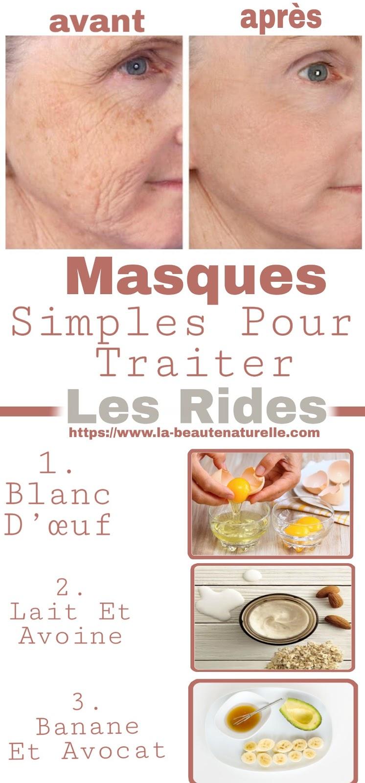 Masques Simples Pour Traiter Les Rides