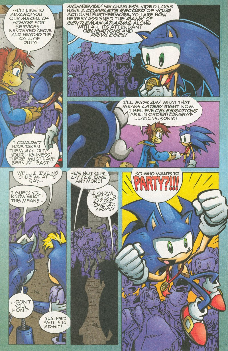 Read online Sonic The Hedgehog comic -  Issue #159 - 16