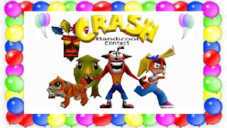 Crash bandicoot connect - Feliz aniversário Crash!!!