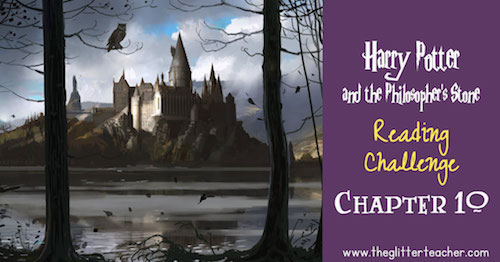Harry Potter and the Philosopher's Stone Reading challenge online trivia quiz. Chapter 10