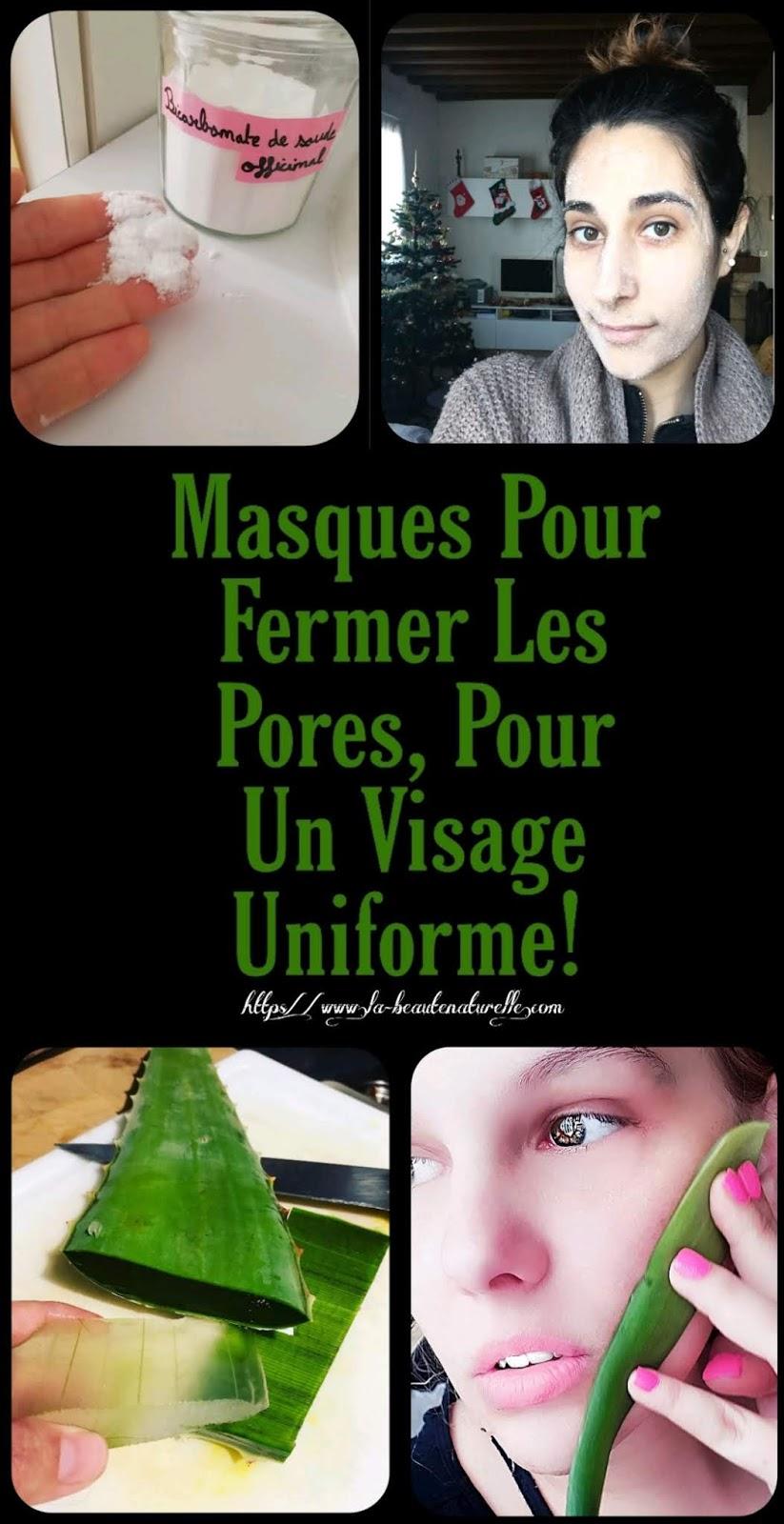 Masques Pour Fermer Les Pores, Pour Un Visage Uniforme!