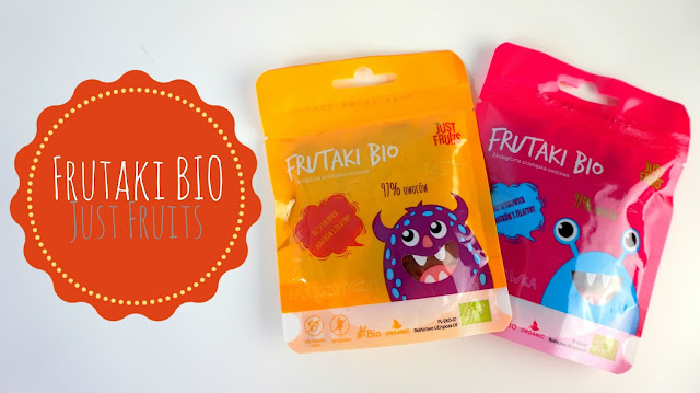 RECENZJA: Frutaki BIO | Just Fruits