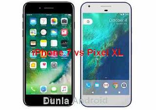 antara google pixel dan iphone 7