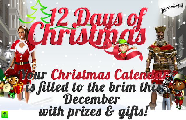 12 Days of Christmas Bonuses from Genesys Club Casinos