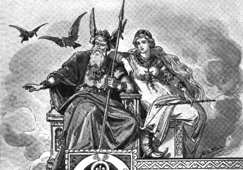 Dioses Vikingos En Los Días De La Semana
