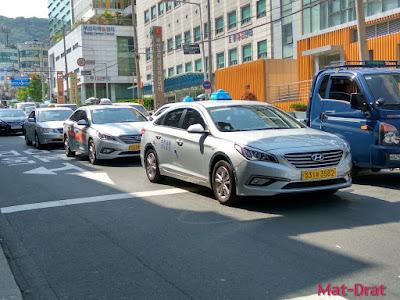 Taxi to Gamcheon Culture Village Tempat Menarik di Busan Korea